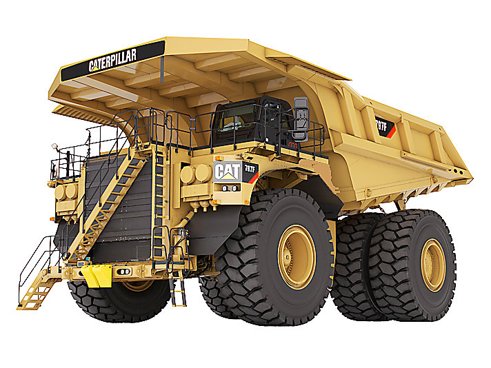 Caterpillar 797F, the latest model of 797 class dump trucks manufactured and developed by Caterpillar