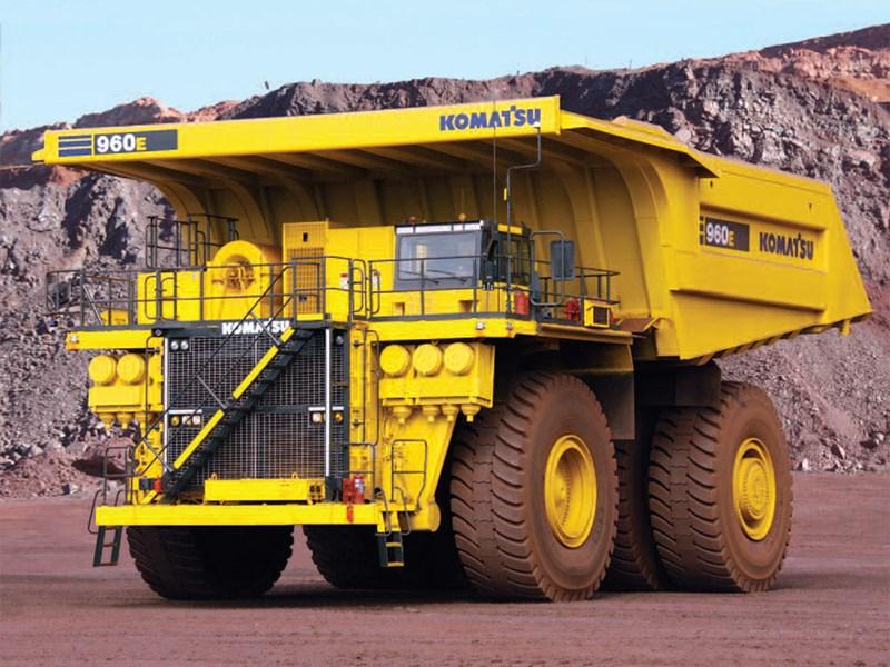 Komatsu 960E-1 and Komatsu 960E-1K are the two latest rigid dump trucks by Komatsu.