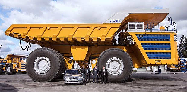 The Belaz 75710 is the biggest in the world