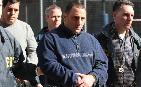 Members of the Gambino crime family Mario Cassarino (center) and William Scotto (left)Photo: New York Daily News Archive NY Daily News via Getty Images